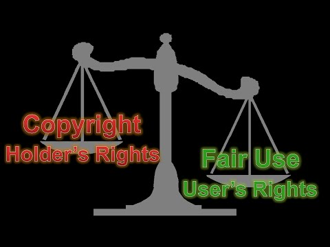 DMCA Part 3 - Fair Use: It's the Law