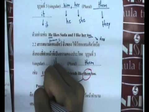 M1E1 1  ภาษาอังกฤษ ม. 1 เทอม 1 ตอนที่ 1
