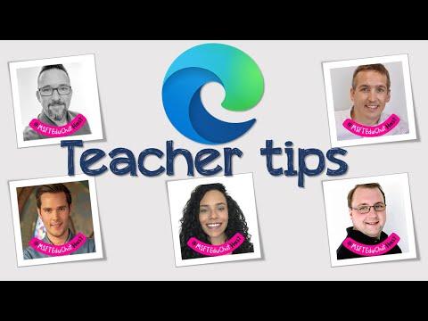 Edge For Education : International Teachers share their tips