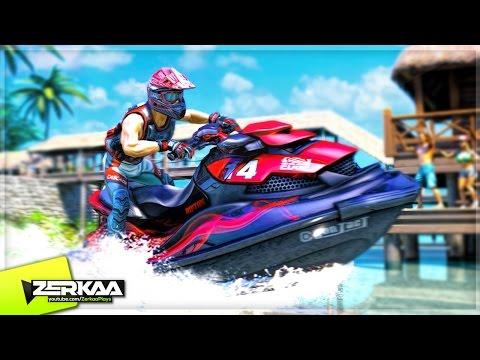 THE WAVIEST GAME! (Aqua Moto Racing Utopia)