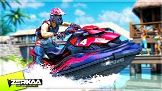 THE WAVIEST GAME! (Aqua Moto Racing Utopia)