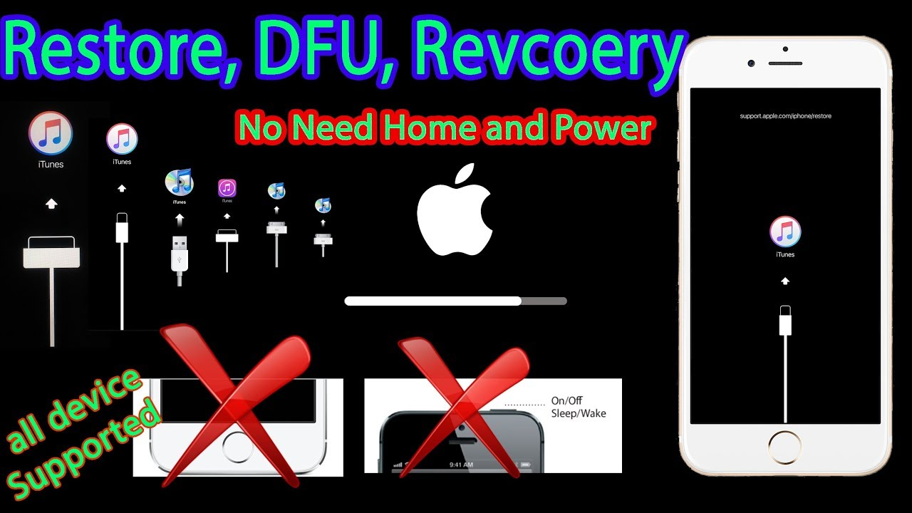 how to get out of dfu mode iphone 7