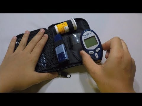How To Test Your Blood Sugar Level Using A Freestyle Lite Blood Glucose Monitor