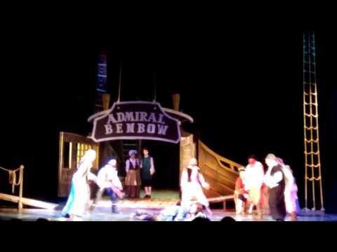 спектакль СОКРОВИЩА КАПИТАНА ФЛИНТА 2016 год. Молодёжный театр Алтая