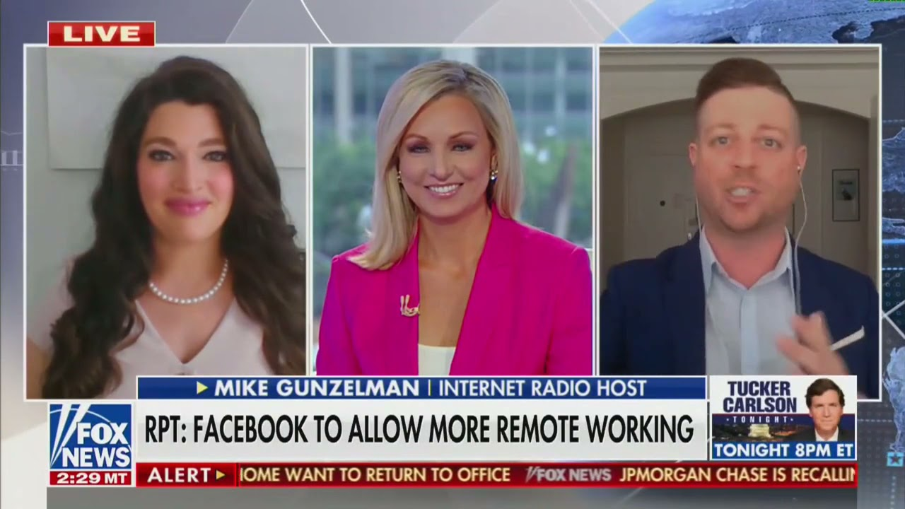 Fox News Channel: Back to the Office versus Remote Work
