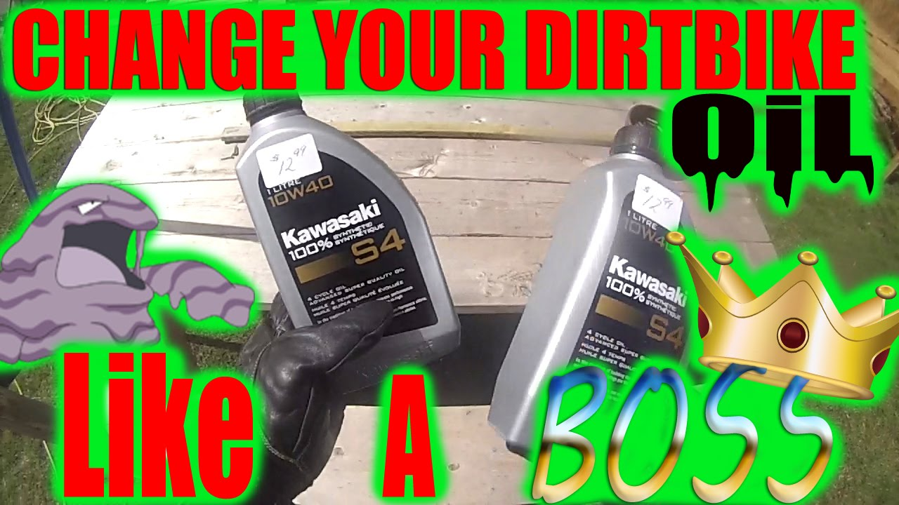 How to Change your oil LIKE A BOSS   Yamaha WR426   WR450   wr250