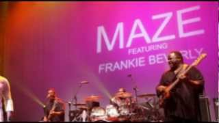 Maze featuring Frankie Beverly - While I