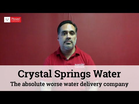 Crystal Springs Water Delivery Reviews @ Pissed Consumer Interview