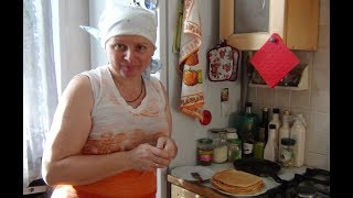 Рецепты от Анюты.  Быстрые блины