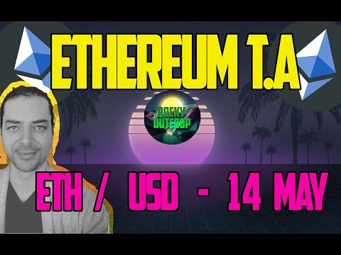 Ethereum (ETH/USD) - Daily T.A With Rocky Outcrop - May 14th Technical Analysis - Wedge V Wedge