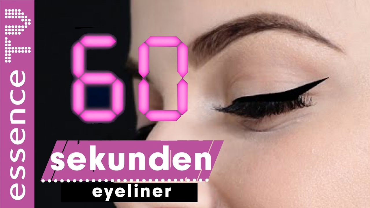 eyeliner ziehen mit tesafilm in 60 sekunden perfekter. Black Bedroom Furniture Sets. Home Design Ideas