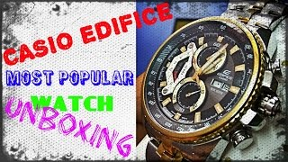 CASIO wrist watch EF-558SG most popular product must watch unboxing