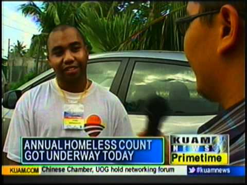 Guam's homeless population being tallied