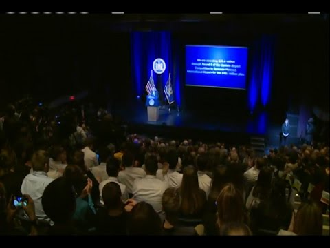Governor Cuomo Delivers His 2017 State of the State Address in Central New York