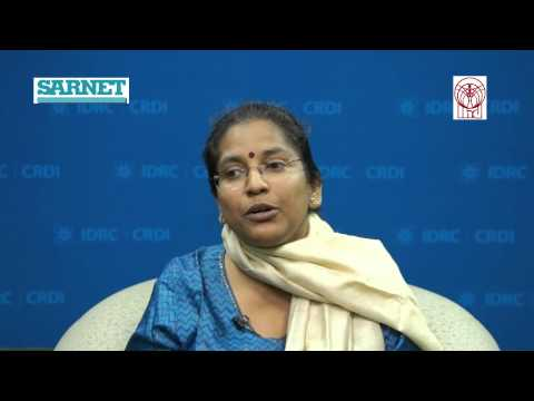 """Jobs Opportunities for South Asian Women"""" -- Dr. Preet Rustagi, IHD"""
