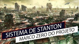 Star Citizen - Sistema de Stanton e o marco zero do projeto#Ep189 pt-br #gameinfo