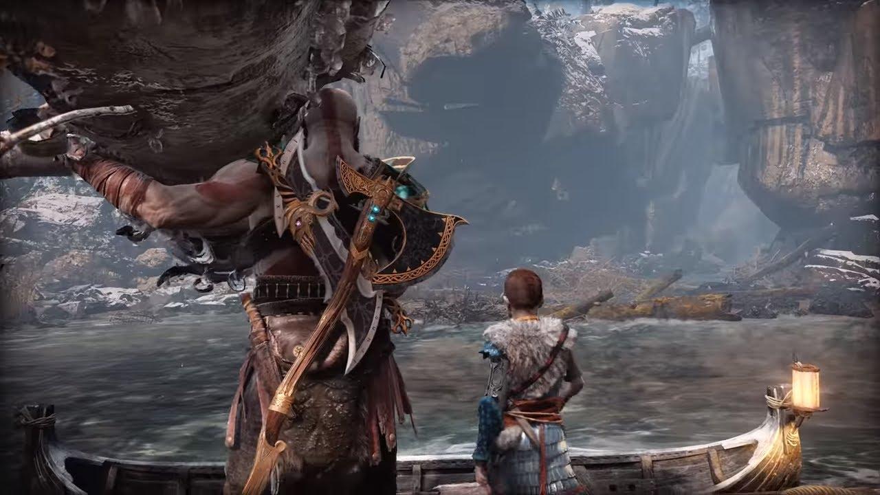 God Of War Gameplay God of War 4 NG...