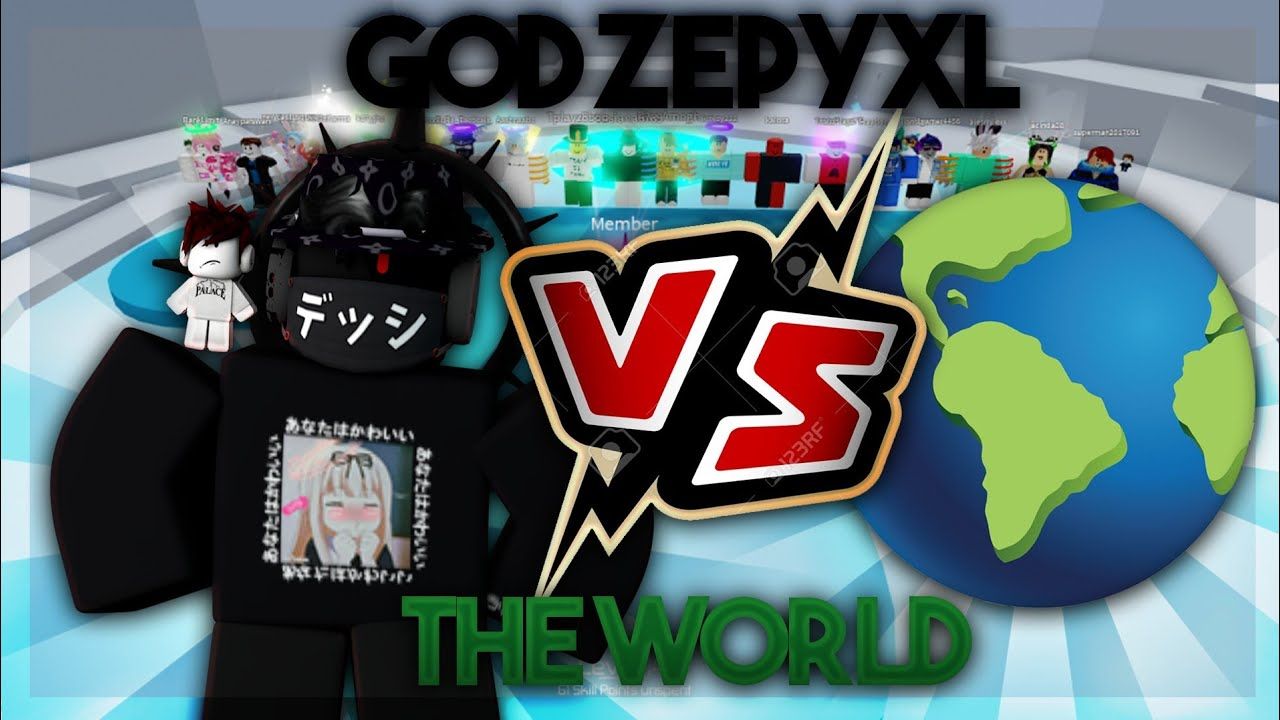 Download GOD Zepyxl Vs THE WORLD! Tower Of Hell Roblox!