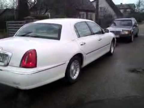 lincoln town car 1999 walkaround and inside tour start up youtube. Black Bedroom Furniture Sets. Home Design Ideas