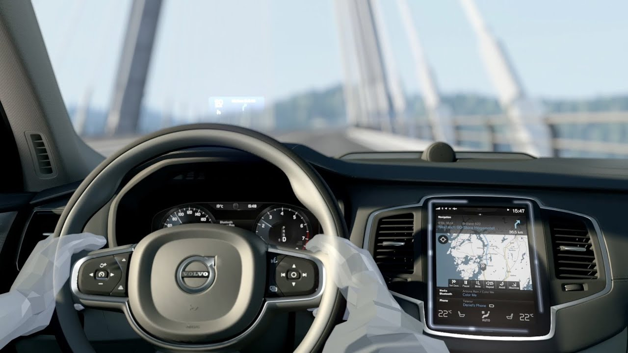2015 Volvo Xc90 User Experience Animation Youtube