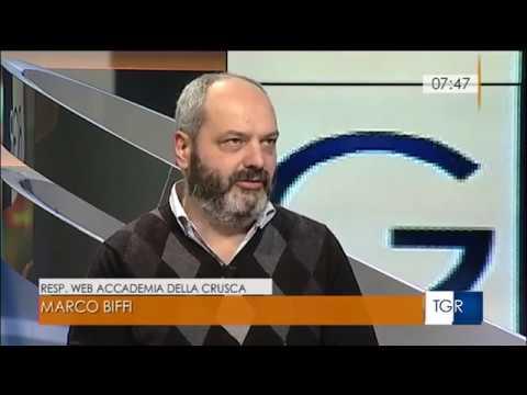La Crusca a Buongiorno Regione: la lingua e i nuovi media