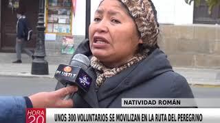 UNOS 300 VOLUNTARIOS SE MOVILIZAN EN LA RUTA DEL PEREGRINO