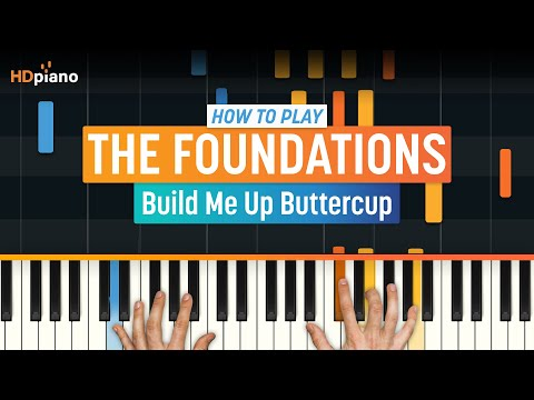 """""""Build Me Up Buttercup"""" by The Foundations   HDpiano (Part 1)"""