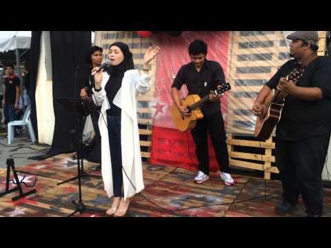 Adira - ombak rindu (acoustic) live