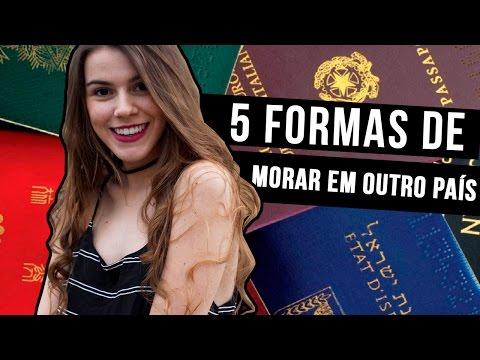 5 Formas de Morar fora do Brasil | Mi Alves