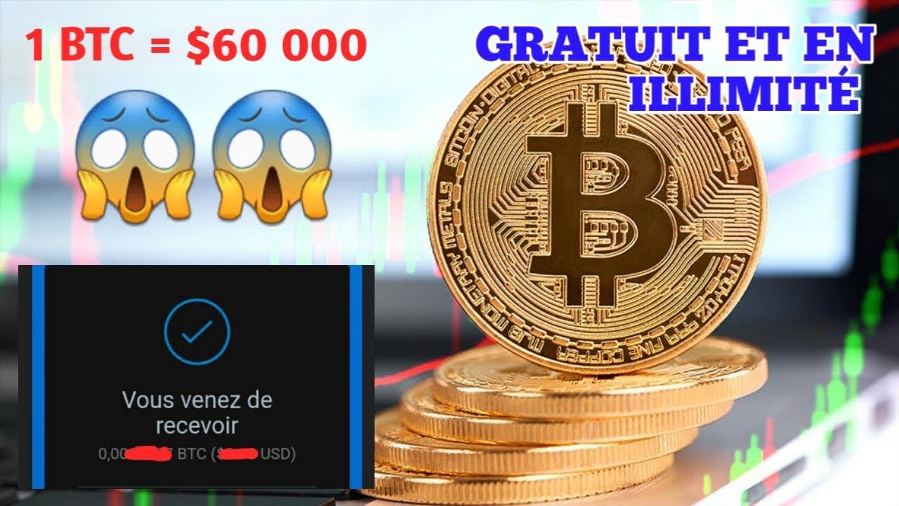 bitcoin gratuit de dolar