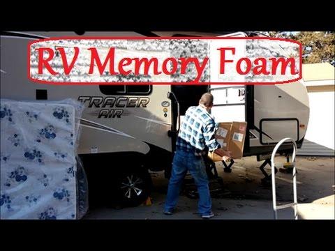 Upgrade Rv Mattress To Memory Foam Youtube