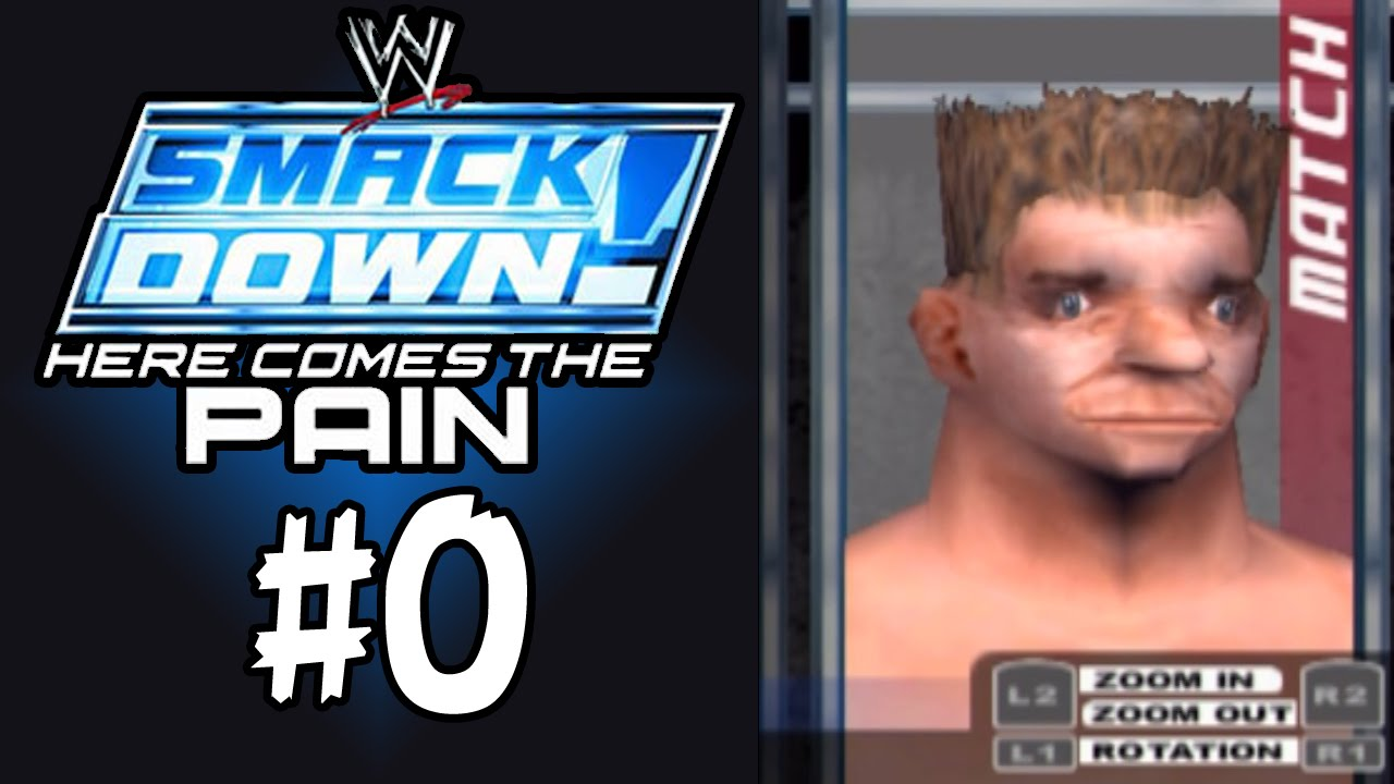 Smackdown here comes the pain season mode 0 character creation