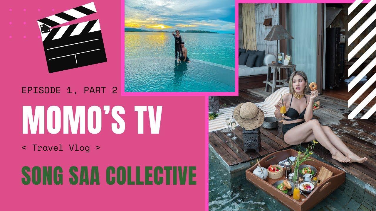 MOMO family's travel to Songsa island