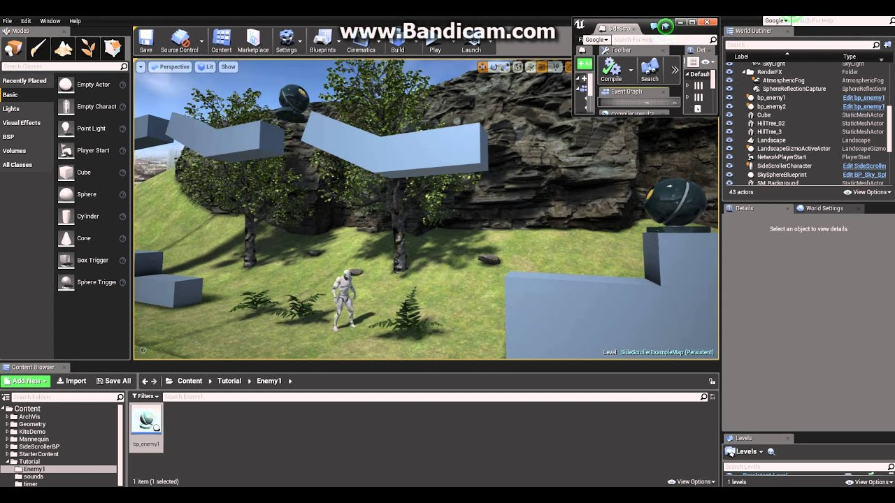 Unreal engine 4 absolute beginner tutorial part 3 basics of unreal engine 4 absolute beginner tutorial part 3 basics of blueprint visual scripting system malvernweather Choice Image