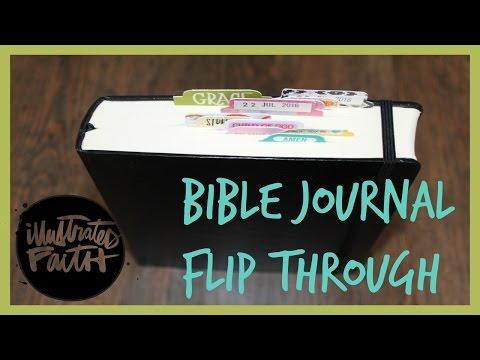 Bible Journal Flip Through   Abby Elizabeth