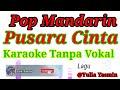 Karaoke Tanpa Vokal PUSARA CINTA  Pop Mandarin Yulia Yasmin Lirik.