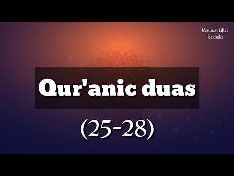 qur'anic-duas(25-28)--surah-bani-israil:ayah-24,-kahaf:-ayah-10,-maryam:ayah-05,-taahaa:ayah-25-28
