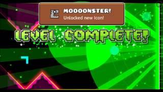 Geometry Dash World FINAL LEVEL Monster Dance Off