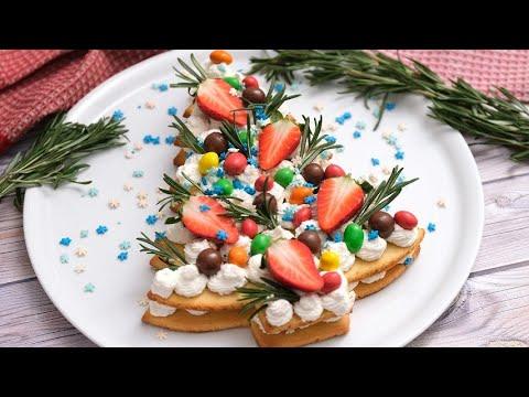 Christmas cream tart a delicious dessert to surprise everyone