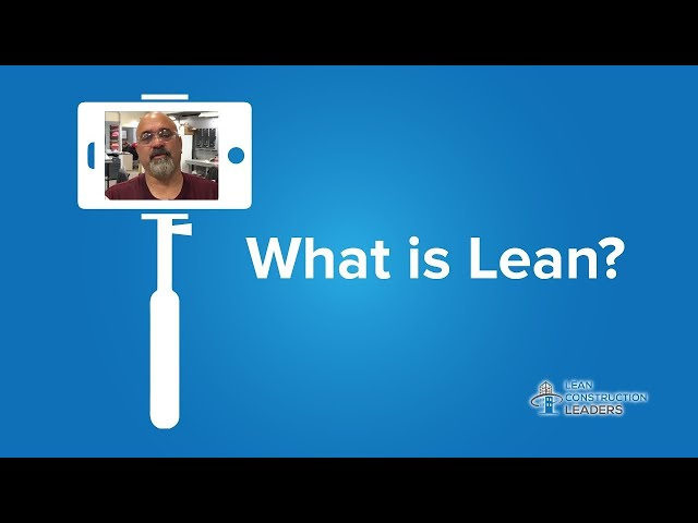 Geoff Whitaker - What is Lean?