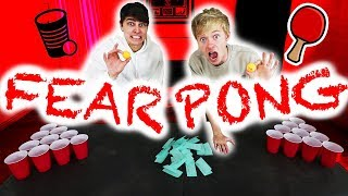 ROOMMATES PLAY FEAR PONG w/ Colby Brock