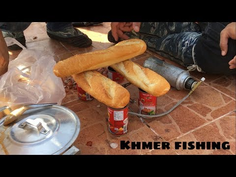 Enjoyable Fishing And Cooking On Weekend By Amazing A Lot Man In My Village  in Cambodia