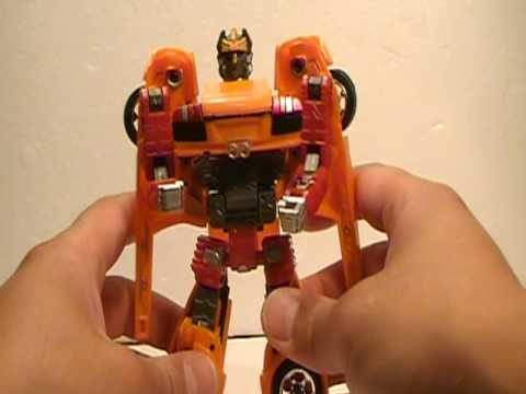 1:32 Scale Lambo Murcielago Transforming RoadBot Toy Review