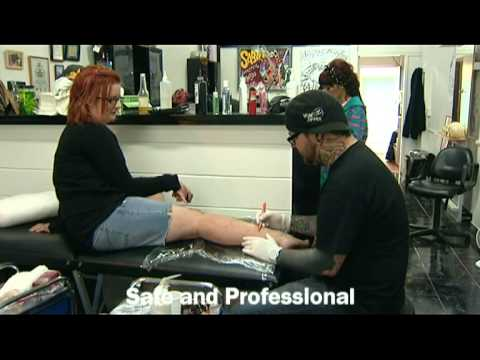 Jodys tattoo shop promotional video youtube for Jody s tattoo shop