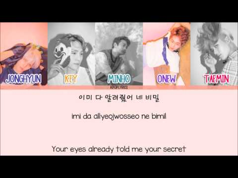 Shinee - Odd Eye [Eng/Rom/Han] Picture + Color Coded HD