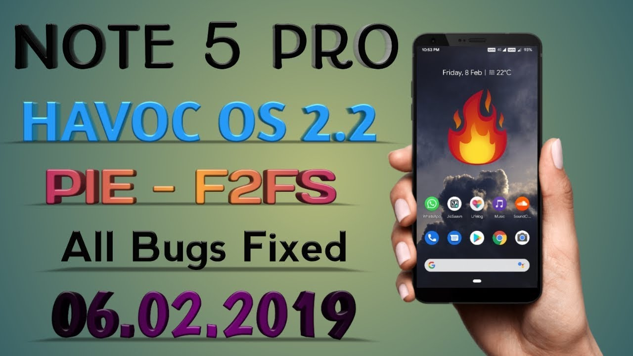 HAVOC-OS-[OFFICIAL]PIE-9 0-REDMI NOTE 5  PRO-(Whyred)-06-02-19-F2FS-EDITION-ALL-BUGS-FIXED