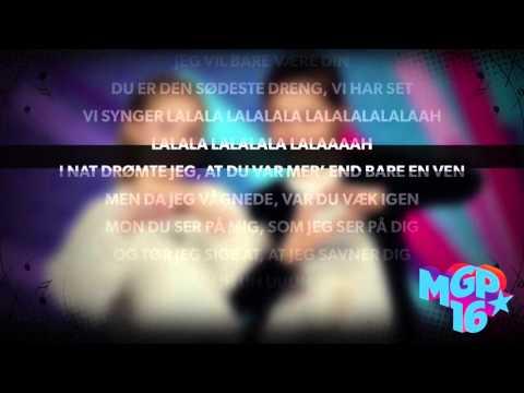 Sofie & Augusta - Den Sødeste Dreng | Karaoke | MGP 2016
