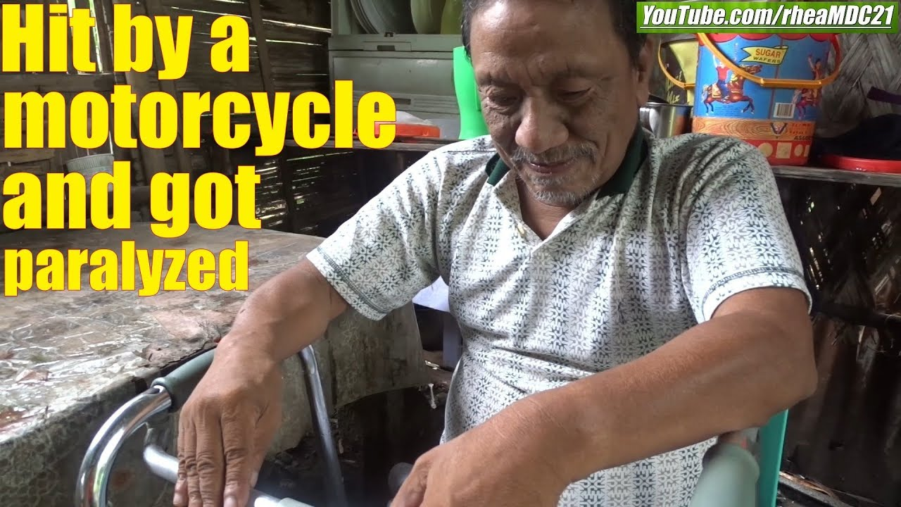 Travel to the Philippines and Meet a Paralyzed Man Who was a Peasant. Poverty in Philippines