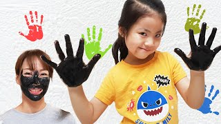 서은이의 신기한 콩순이 비누 슬라임 로션 엄마를 위한 문어 검정색 팩 피부관리 화장놀이 손바닥 Kongsuni's Soap, Slime lotion, Octopus Pack