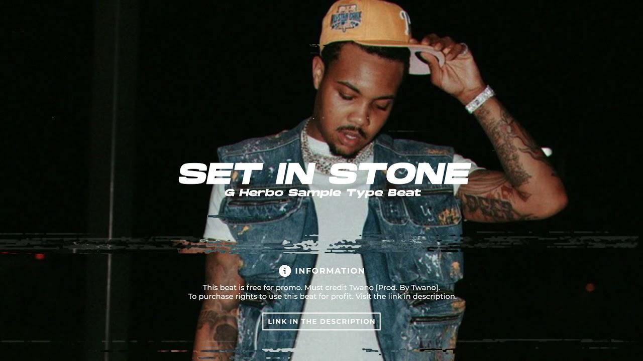 "[FREE] G Herbo Sample Type Beat 2021 ""Set In Stone"""
